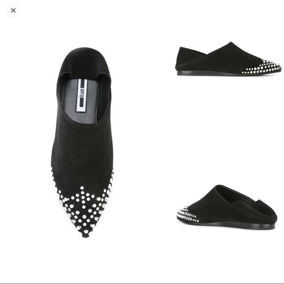 33953f255c MCQ Alexander McQueen Studded Slip-on shoes. M 5b1c9c0c45c8b30daffb817b